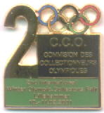 2nd International Winter Olympics Collectors fair 2001 unummerer