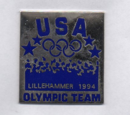 USA square Olympic Team Lillehammer