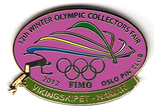 12th International Winter Olympic Collectors Fair 2012 GULL STOR