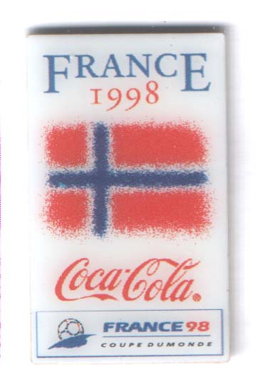 World Cup 1998 Coca Cola Norway