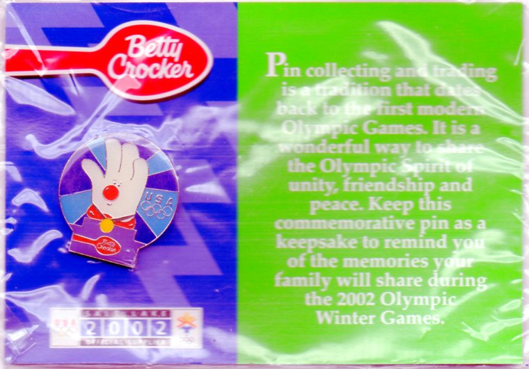 Betty Crocker - Helping hand Slat Lake City 2002