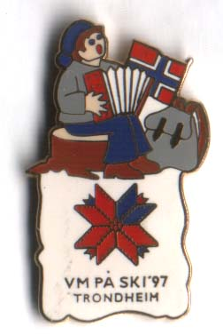 Accordion Ski VM Trondheim 1997