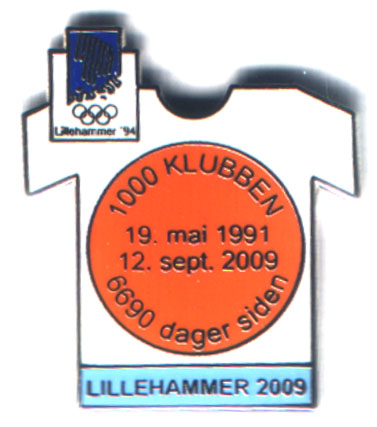 Lillehammer light blue 2009 with number