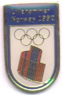 The third bid pin for the 1992 olympics