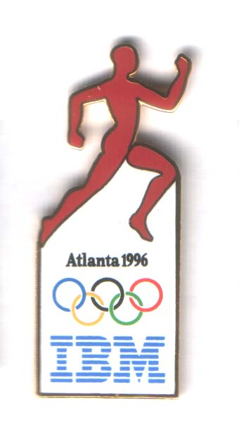 Atlanta 1996 IBM runner