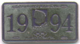 Canada Licenceplate with northern light