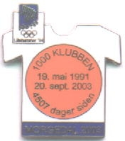 Morgedal 2003 with number