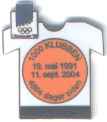 Lillehammer 2004 with number