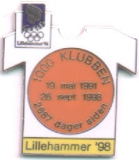 Lillehammer 1998 with number