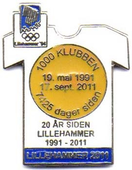Lillehammer dark blue 2011 with number